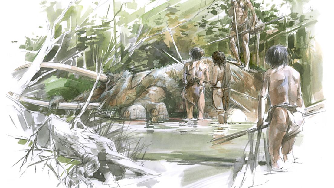 FOTOS: Hallan un esqueleto casi completo de un elefante de 300.000 años de antigüedad