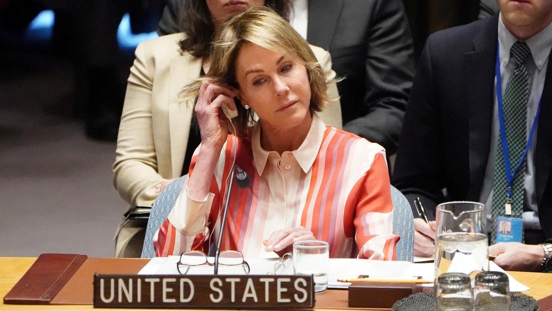 EE.UU. veta el borrador de la declaración del Consejo de Seguridad que condena la injerencia externa en los asuntos de Venezuela