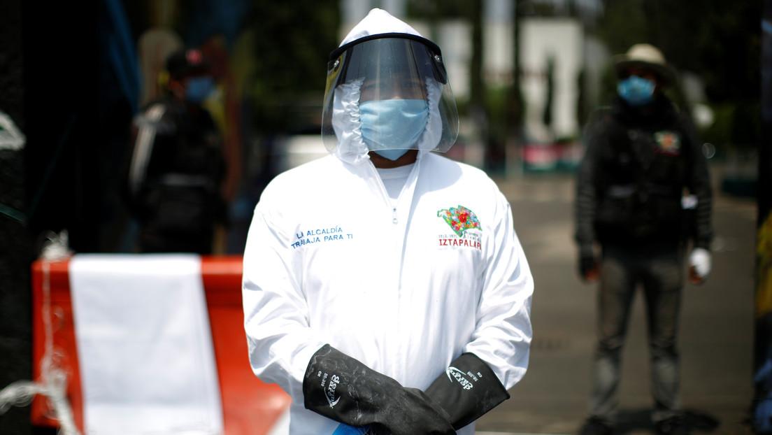 México registra 424 muertes por coronavirus en un día y ya supera los 6.000 fallecimientos