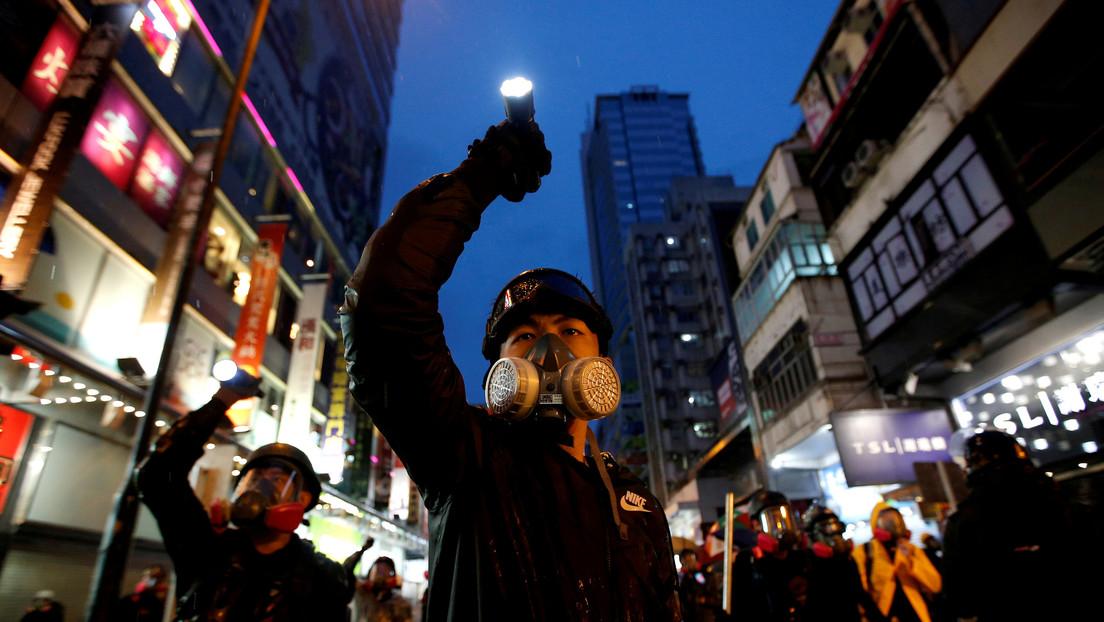 """China afirma que las acciones de EE.UU. respecto a Hong Kong son una """"injerencia flagrante"""" en los asuntos internos del país"""
