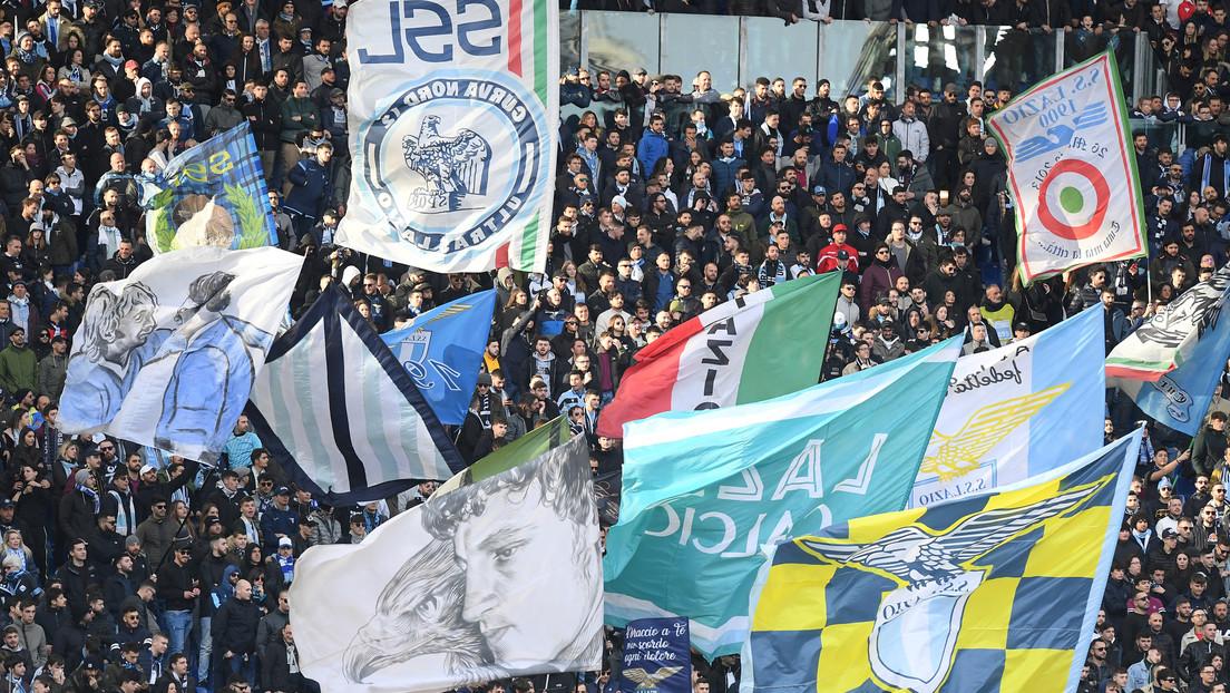 La Lazio 'remplazará' a sus aficionados en las gradas de su estadio por las fotografías que ellos mismos podrán subir