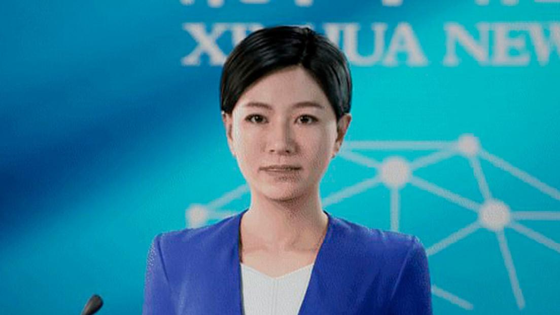 VIDEO: Debuta en China la primera presentadora 3D de noticias potenciada con inteligencia artificial