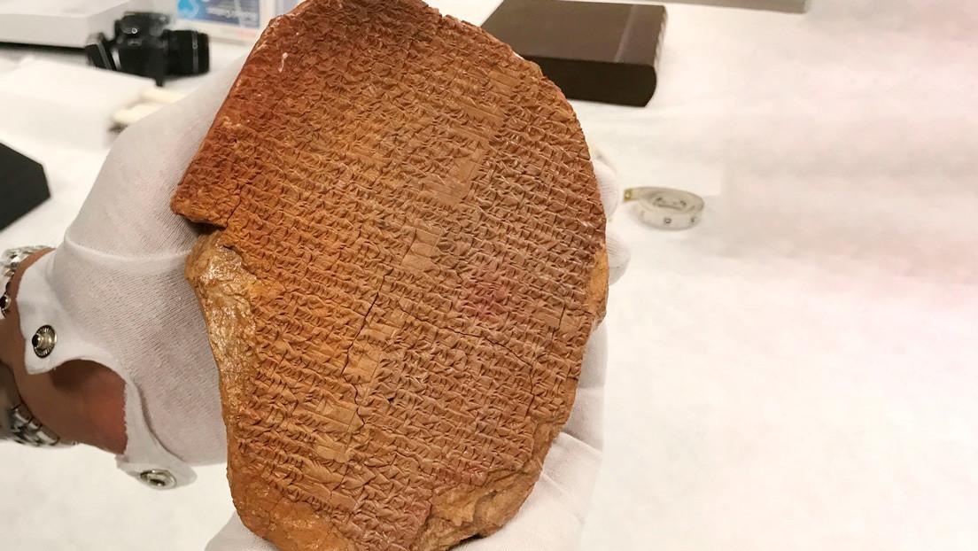 EE.UU. pretende devolver a Irak una pieza arqueológica comprada por más de 1,6 millones de dólares