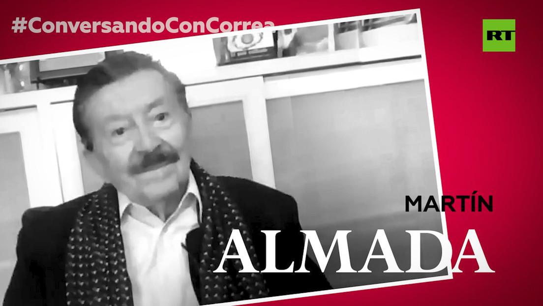 """Martín Almada a Correa: """"Últimamente el Plan Cóndor apareció de cuerpo y alma"""""""