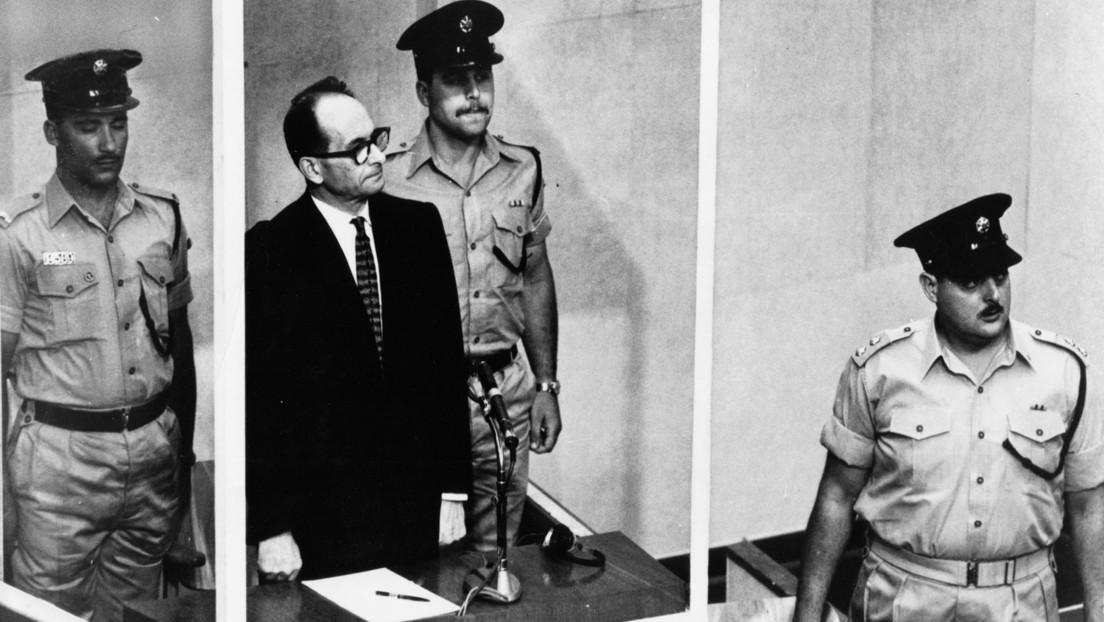 Israel publica fotografías inéditas de la operación de la captura del criminal nazi Adolf Eichmann, 'arquitecto' del Holocausto