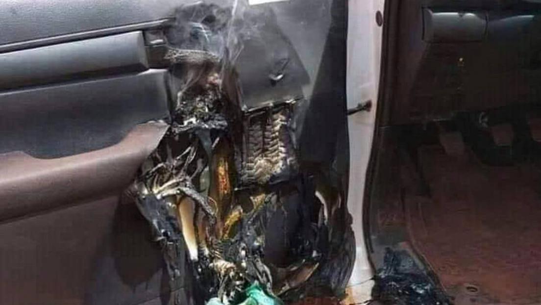 Esto es lo que puede pasar si dejas desinfectante de manos en el interior de un vehículo (FOTO)
