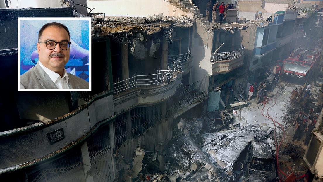 Al menos un pasajero sobrevivió al accidente aéreo del avión de Pakistan International Airlines