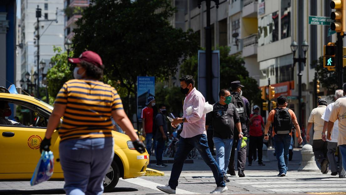 Ecuador reporta 35.828 contagiados por coronavirus y 4.948 muertos, entre confirmados y probables