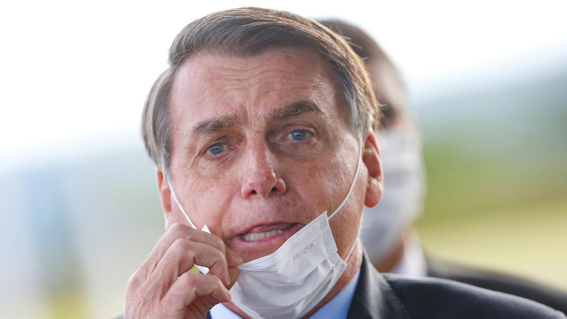 """Bolsonaro llama """"mierda"""" a gobernadores y alcaldes que imponen cuarentenas para contener el coronavirus"""