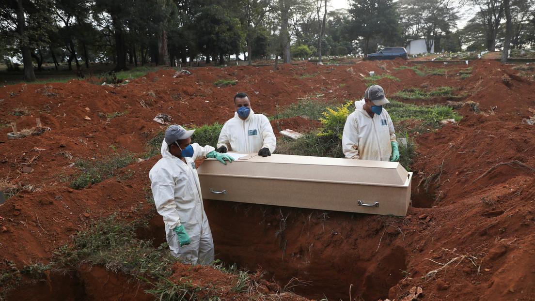 Brasil registra 20.803 nuevos contagios en un día y se convierte en el segundo país del mundo con más casos de coronavirus