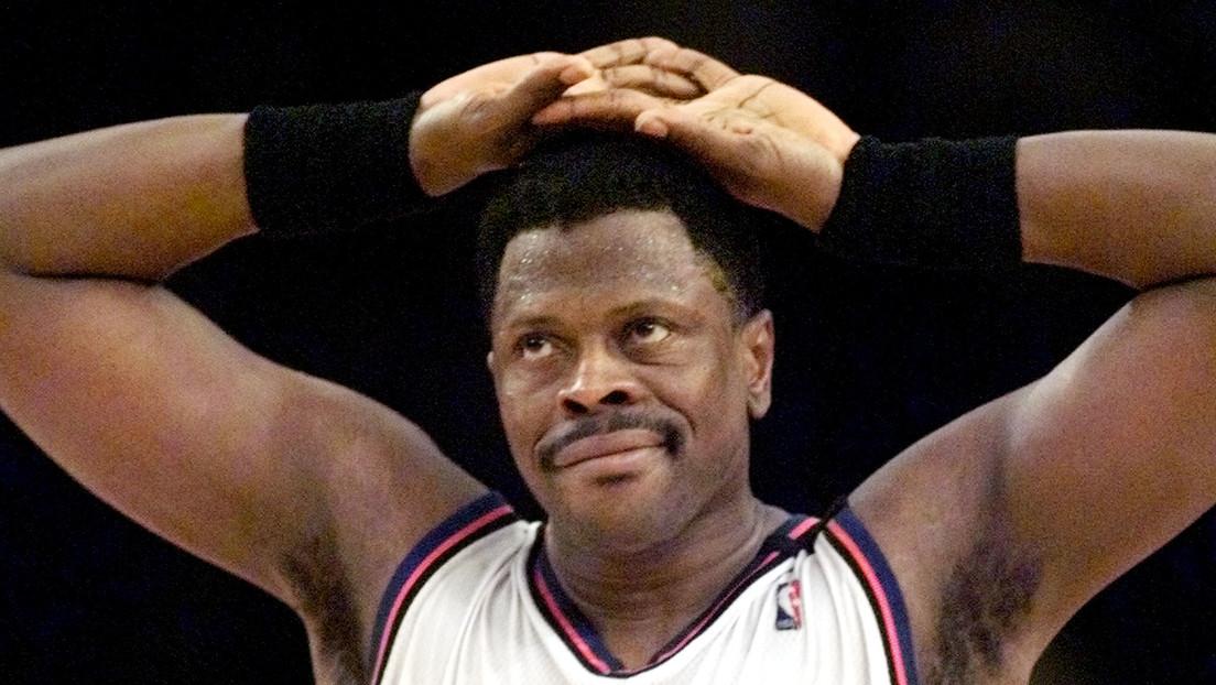 La leyenda de la NBA Patrick Ewing da positivo por coronavirus y es hospitalizado en EE.UU.