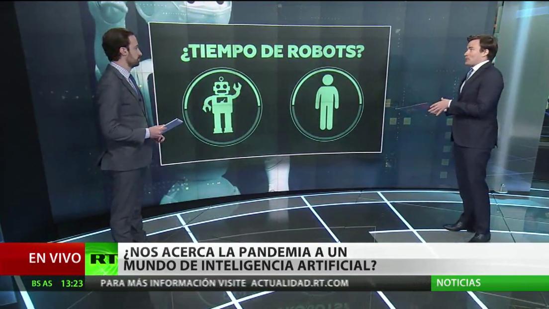 ¿Nos acerca la pandemia a un mundo de inteligencia artificial?