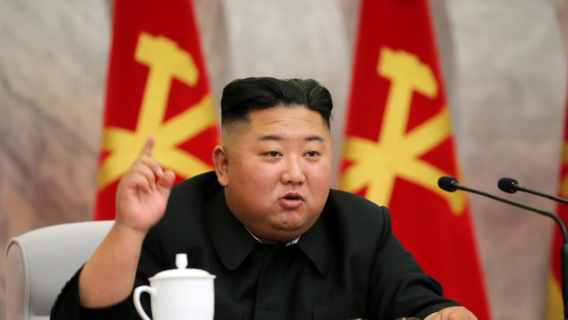 """Kim ordena desarrollar """"vertiginosamente"""" el poder de autodefensa y fortalecer las medidas de disuasión nuclear de Corea del Norte"""
