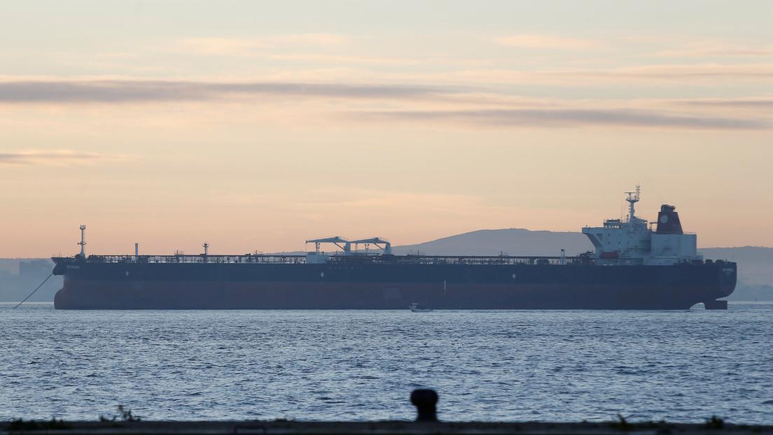 El primer buque petrolero iraní que transporta combustible a Caracas entra en aguas territoriales de Venezuela