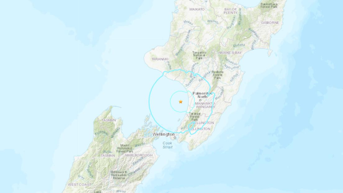 Un sismo de magnitud 5,6 sacude las costas de Nueva Zelanda
