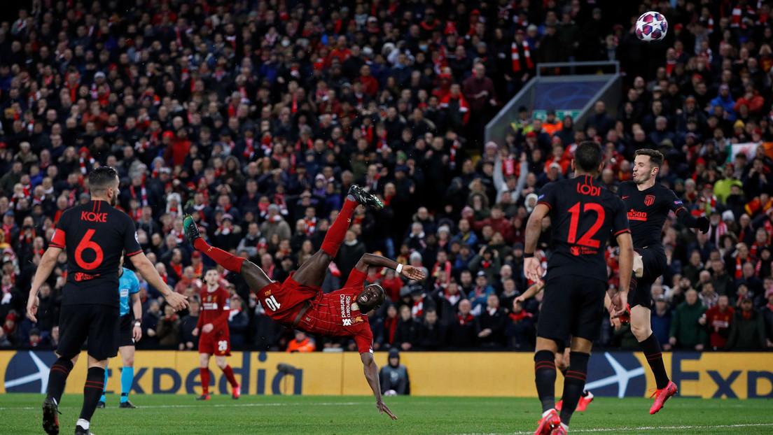 """El partido entre el Liverpool y el Atlético de Madrid provocó """"41 muertes adicionales"""" por covid-19, concluye un estudio"""