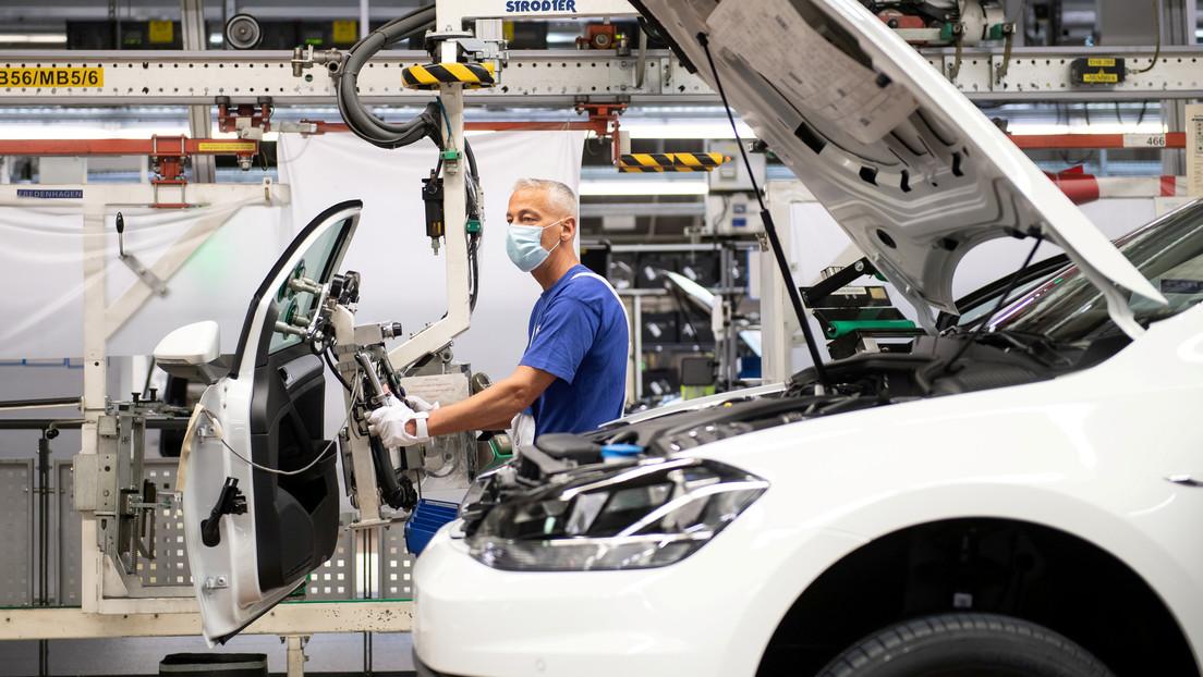 Alemania entra en recesión al registrar la peor caída intertrimestral del PIB desde la crisis de 2008