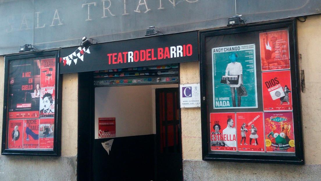 La 'función' más solidaria de un teatro de Madrid: repartir alimentos a los afectados por la crisis del coronavirus