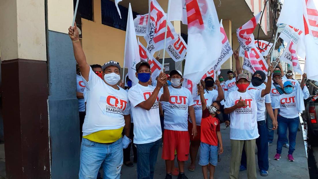 VIDEO, FOTOS: Protesta en Guayaquil contra los recortes anunciados por el gobierno de Lenín Moreno