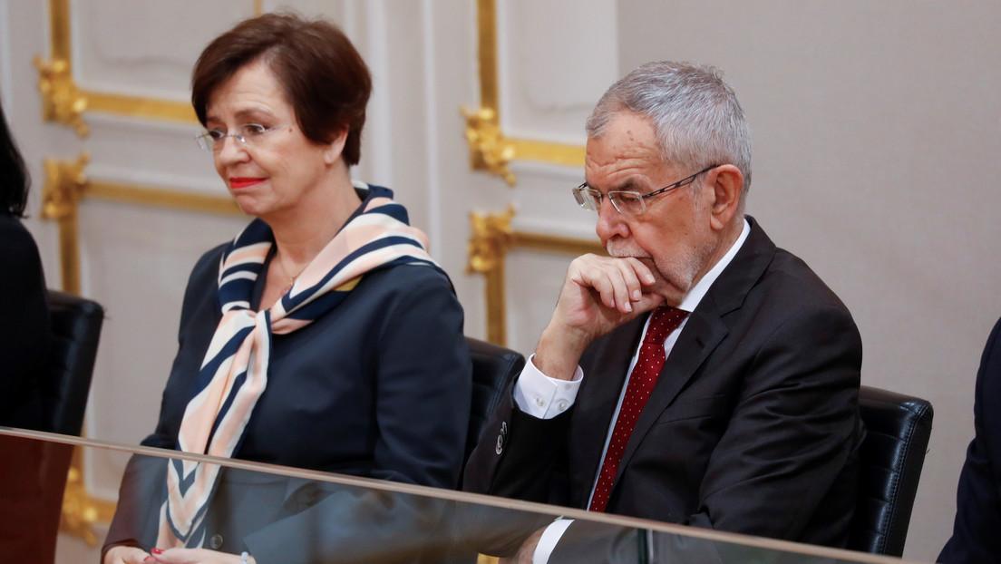 El presidente de Austria se salta el toque de queda impuesto por el coronavirus