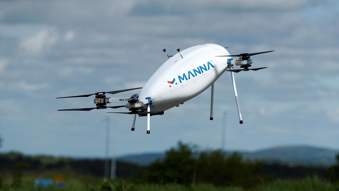 VIDEO: Una empresa de Irlanda usa drones para entregar fármacos, pan y leche a ancianos en sus domicilios