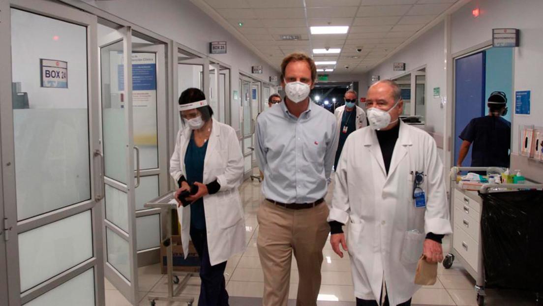Un hospital chileno colapsa y los médicos se ven obligados a elegir qué pacientes ocupan las camas que se liberan