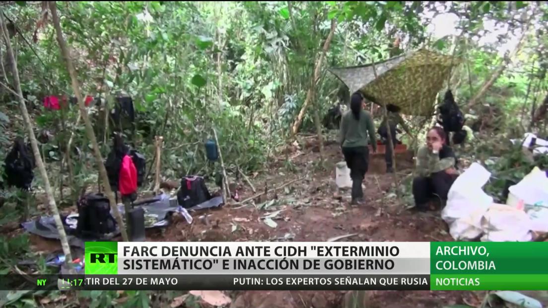 """El partido FARC denuncia la inacción del Gobierno ante el """"exterminio sistemático"""" de excombatientes"""