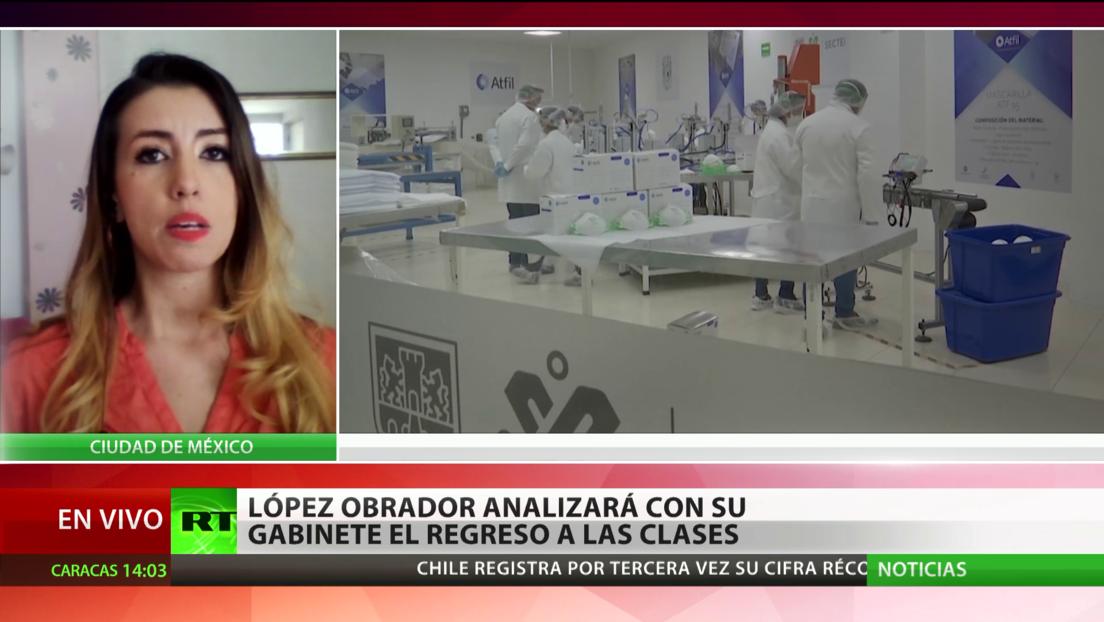 El covid-19 en América Latina: Chile registra 45 muertes más, México busca reabrir las aulas