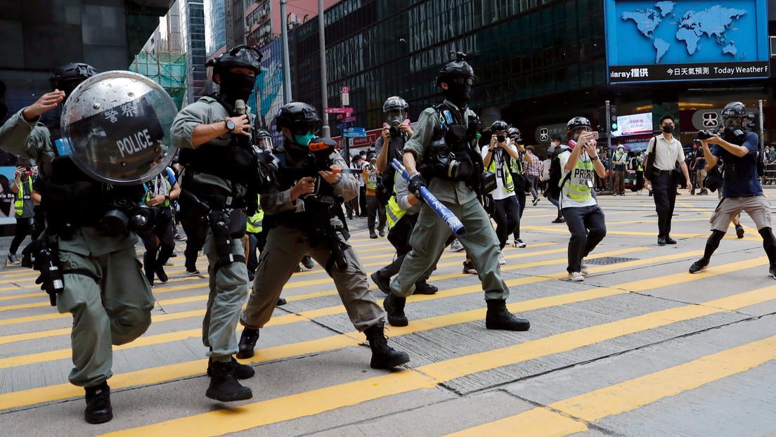 China advierte que está dispuesta a tomar medidas en respuesta a cualquier injerencia en los asuntos de Hong Kong
