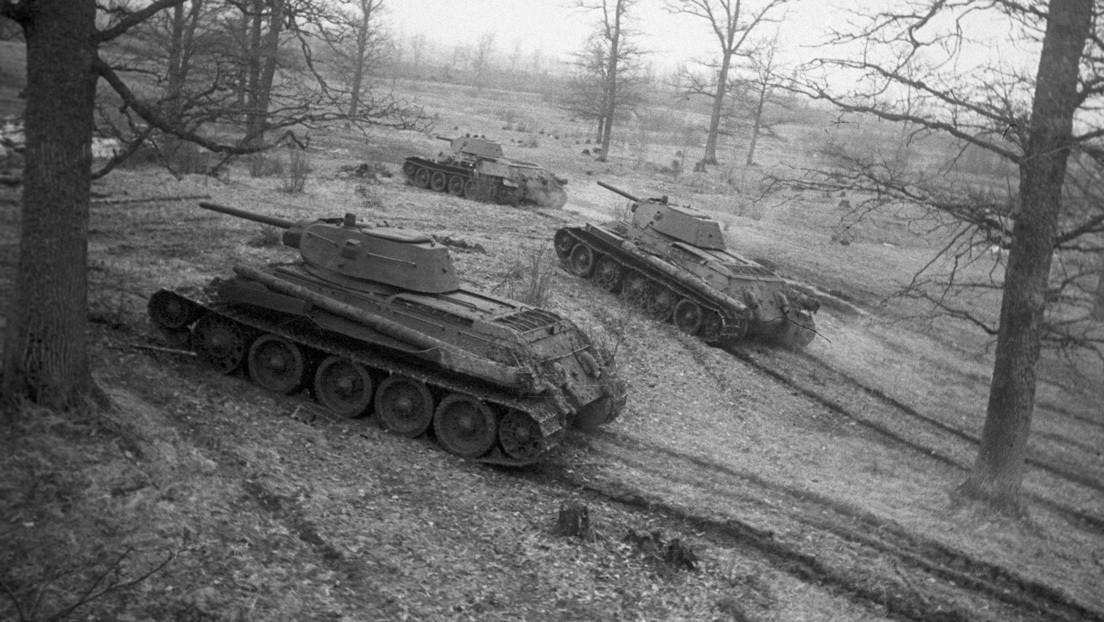 Publican en Rusia documentos inéditos sobre tanques soviéticos y de otros países de la II Guerra Mundial