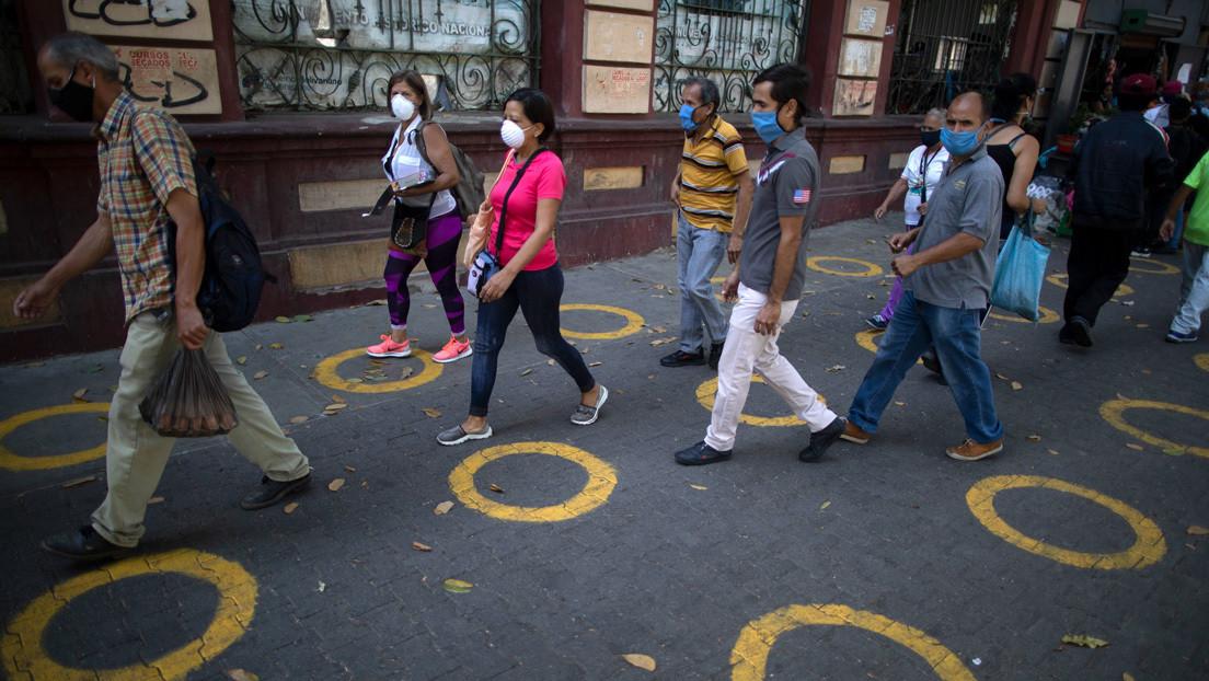 Venezuela contabiliza 1245 contagios de coronavirus