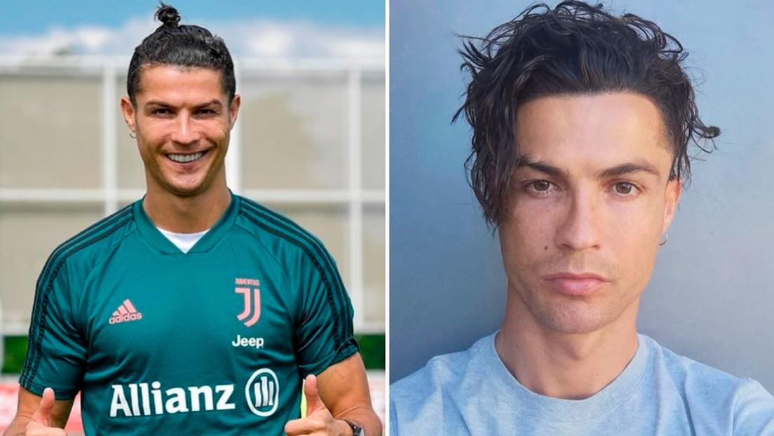 Cristiano Ronaldo estrena un nuevo peinado y pide la opinión de sus admiradores
