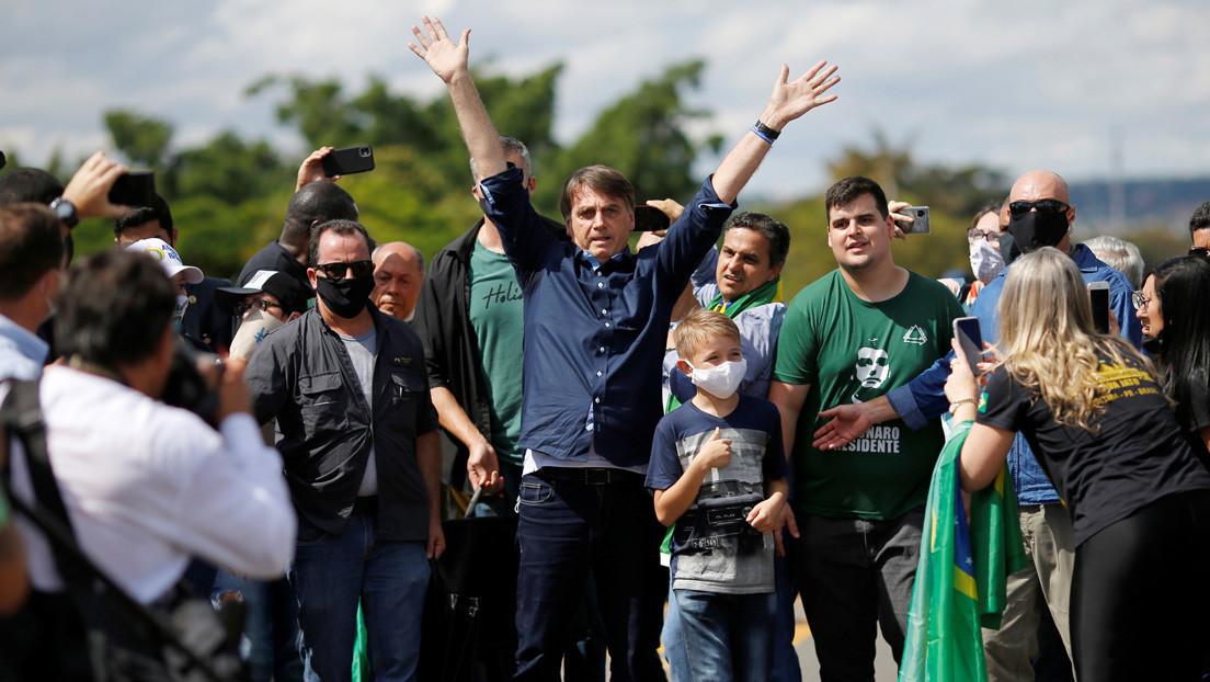 La popularidad de Bolsonaro sigue cayendo y aumentan las voces que piden un 'impeachment'