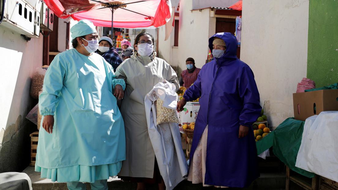 Bolivia registra cifra récord de 632 contagiados de coronavirus en un día y el total de casos sube a 7.768