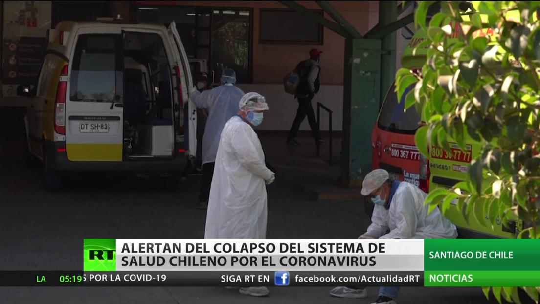 Alertan del colapso del sistema de Salud chileno por el coronavirus