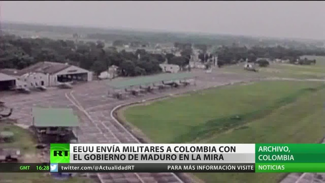 EE.UU. despliega militares en Colombia con el Gobierno de Nicolás Maduro en la mira