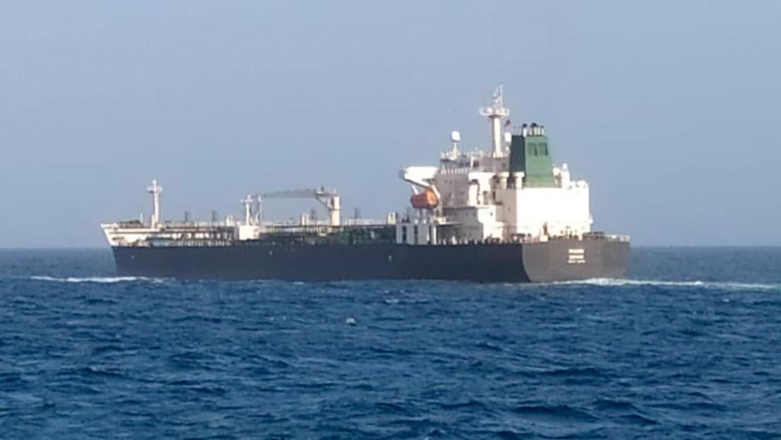 El buque Faxon, el cuarto enviado por Irán, llega a las aguas territoriales de Venezuela