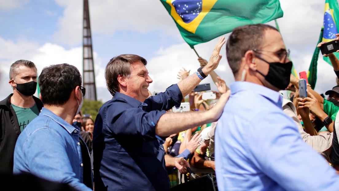 Bolsonaro llega a sus índices más bajos de popularidad en medio de la pandemia del coronavirus