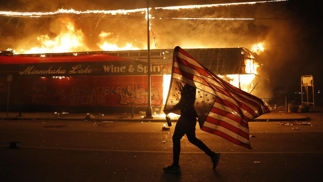 """Trump, sobre los disturbios en Mineápolis: """"Si el alcalde no restaura el control, enviaré la Guardia Nacional"""""""