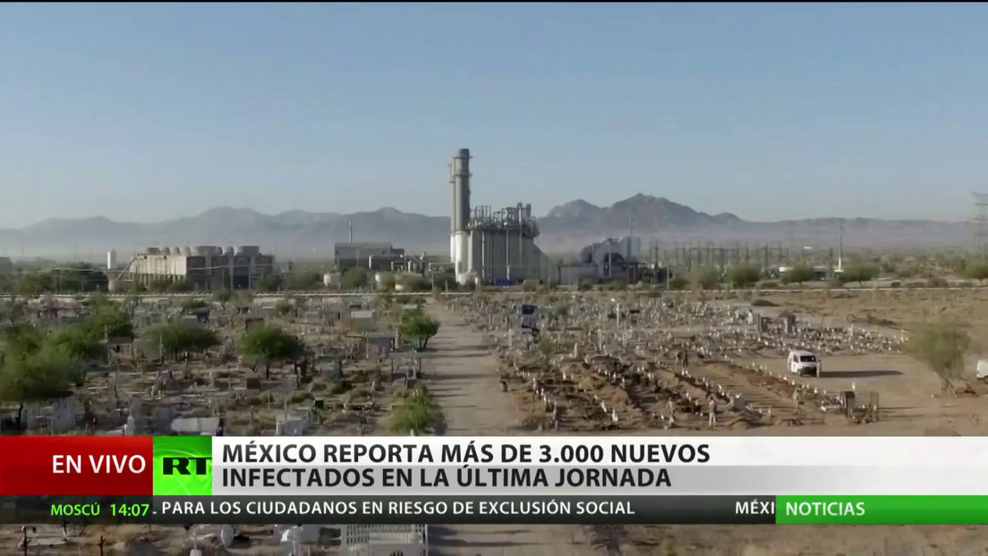 México suma en un día más de 3.000 nuevos contagios por coronavirus