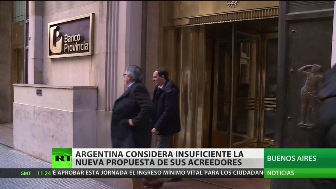 Argentina considera insuficiente la nueva propuesta de los acreedores para reestructurar su deuda soberana