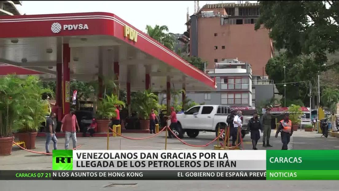 Un cuarto buque iraní con combustible entra en aguas venezolanas pese a las amenazas de EE.UU.