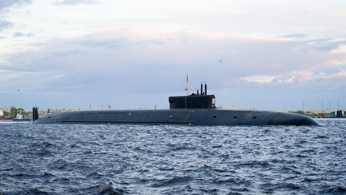 La Marina de Rusia recibe su cuarto submarino con misiles estratégicos de nueva generación