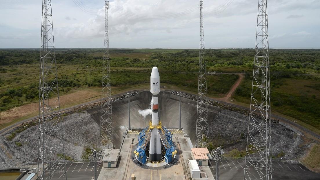 Detectan una fuga de vapores tóxicos en el propulsor espacial ruso estacionado en la Guayana Francesa