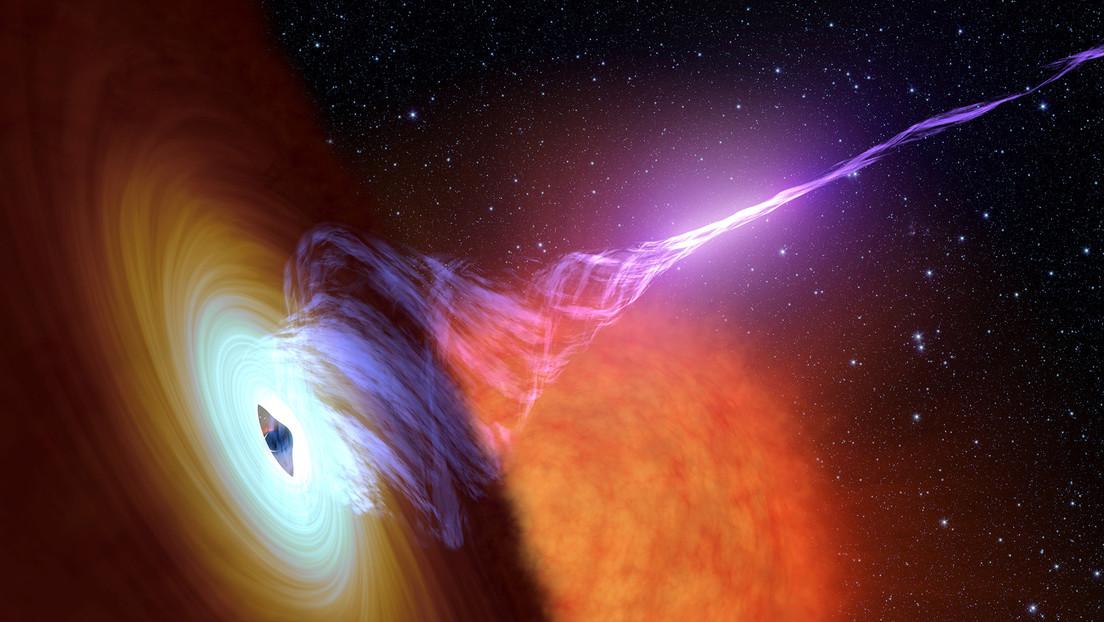 VIDEO: Captan el estallido de un inmenso agujero negro