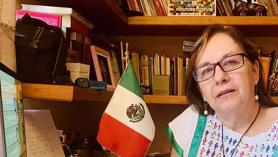 La Red se solidariza con la senadora mexicana que accidentalmente mostró su torso desnudo en una videoconferencia