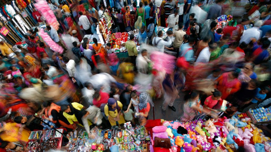 Economía india registra su crecimiento más lento en 11 años por causa de la pandemia