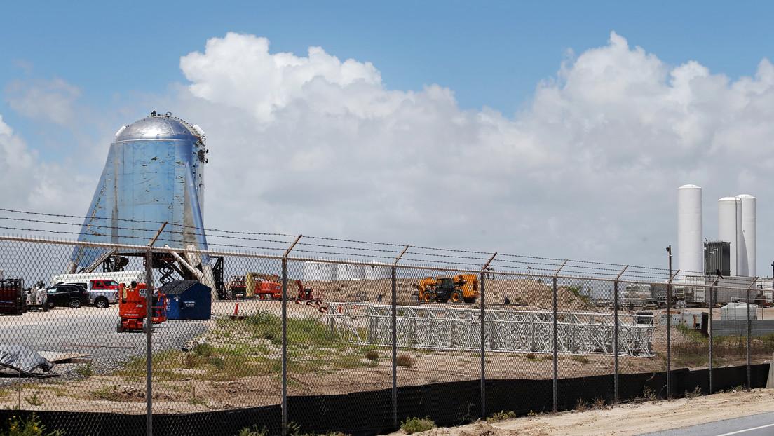VIDEO: Explota el cuarto prototipo de la nave espacial Starship de SpaceX durante una prueba de motor