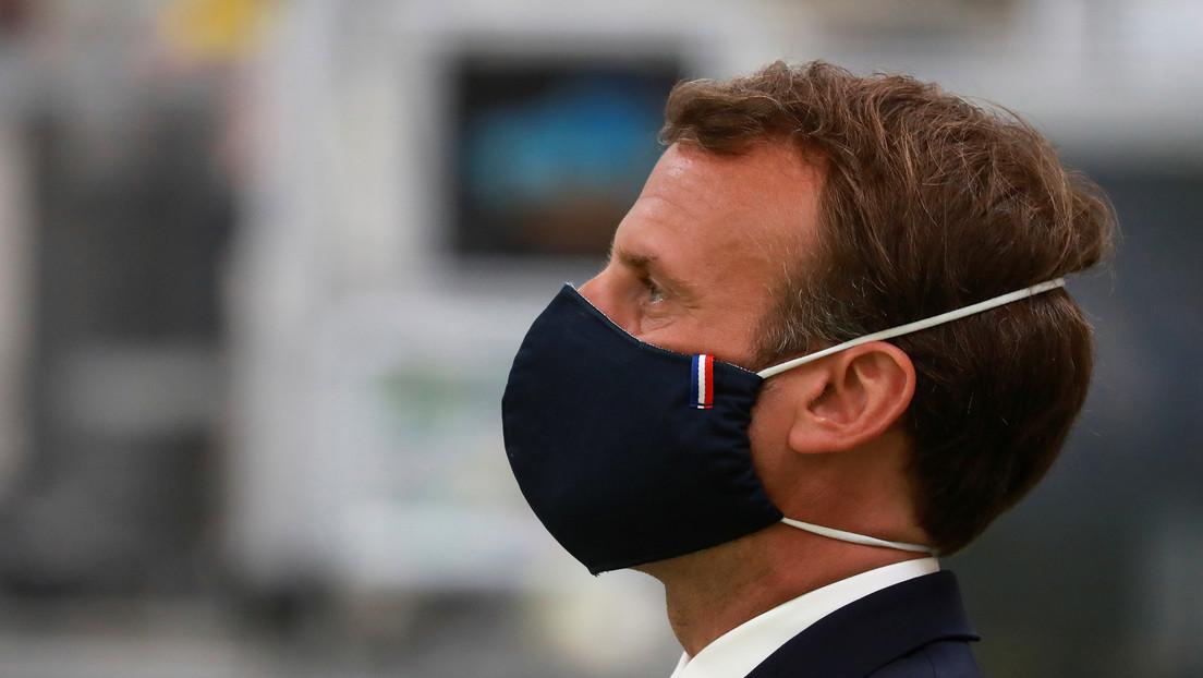 Francia quemó 1.600 millones de mascarillas antes de la epidemia de coronavirus