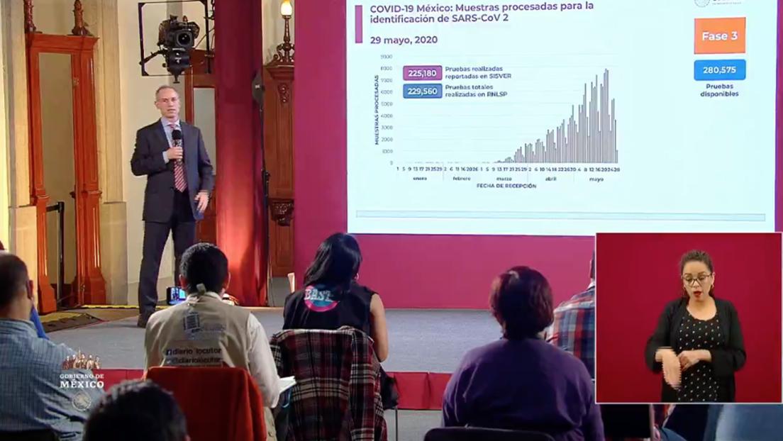México acumula 84.627 casos confirmados de coronavirus y 9.415 fallecimientos